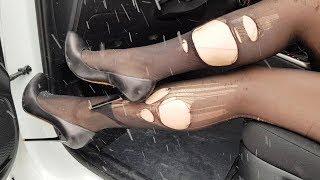 pantyhose rip, sexy rip tights, pantyhose abused, ripped pantyhose (scene 149)