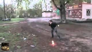 фокусы с огнем, жесткие приколы