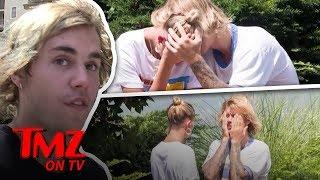 Justin Bieber & Hailey Baldwin Take A Ride....Of Emotions | TMZ TV