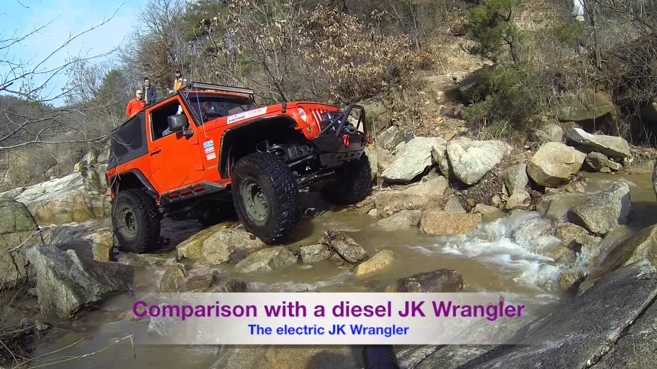 jeep jk wrangler electric vehicle conversion extreme offroad - youtube