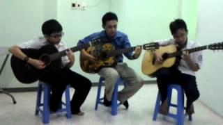 Triệu Đóa Hoa Hồng _ Hòa Tấu guitar