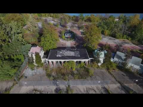 Geauga Lake: Then & Now   Abandoned Amusment Park Drone Footage