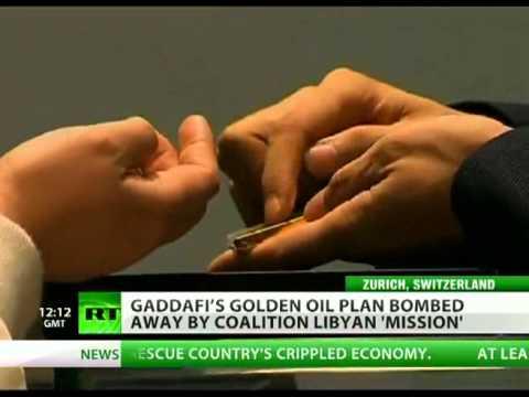 """Nova moeda """"Dinar de Ouro"""" pode ter levado OTAN a destruir a Líbia"""