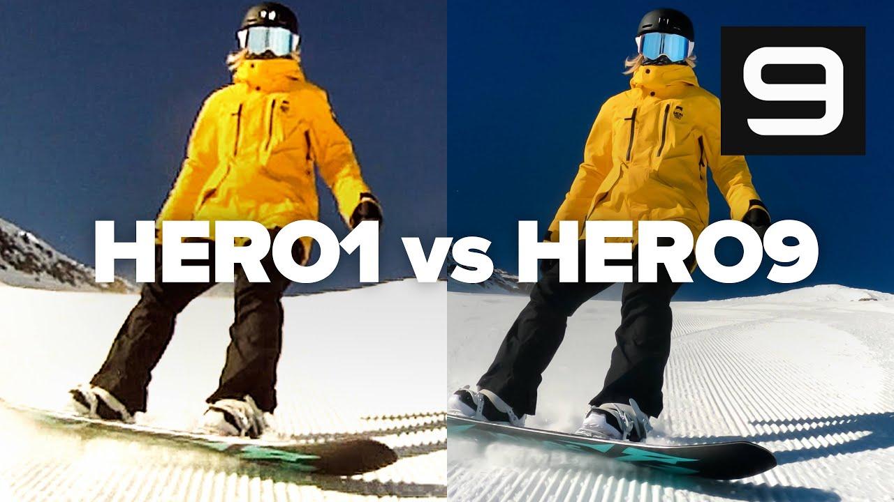 GoPro HERO9 vs HERO1 - How Far We've Come!   Full Comparison in 4K