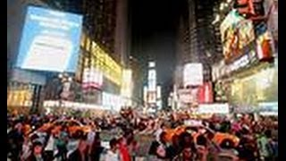 TIMES SQUARE Thunders! *WORLD VISION DAY* JULY 5, 2015 | NEXT *OCT. 4,2014*