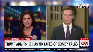 Rep. Swalwell on CNN discussing Trump, Comey, tapes, and ongoing investigations