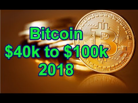 Bitcoin Will Hit $40k to $100k in 2018 - Here's Why