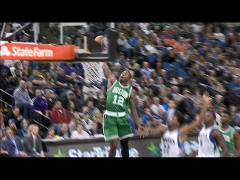 Rozier Dunk Highlights 17-0 Celtics Run l 11.21.16