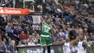 Rozier Dunk Highlights 17-0 Celtics Run l 11.21.16