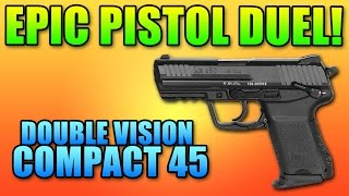BF4 Double Vision Compact 45 Battle | Battlefield 4 Pistol Gameplay
