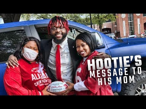 Hootie Jones' heartfelt Senior Day message to his mother, who is fighting stage 4 cancer