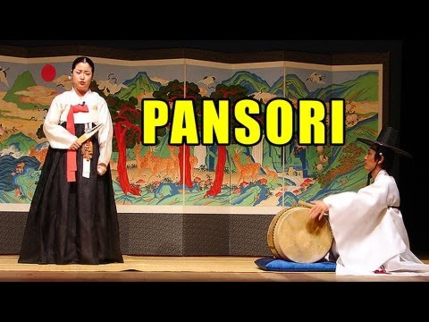 Pansori : Traditional Korean Music (Koreans in the Spotlight)