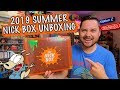 SUMMER 2019 NICK BOX UNBOXING!