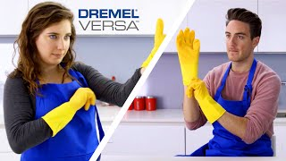 Clean Freak Vs. Power Cleaner: Kitchen // Presented By BuzzFeed & Dremel Versa