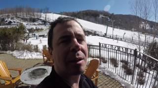 Ski VLOG à Mont Tremblant - 19 mars 2017 - GoPro