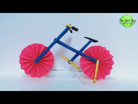 Paper Bicycle | paper cycle | DIY BICYCLE | How to make paper Bicycle | origami Bicycle