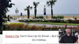 Text Deliver Review: SMS Marketing Beats Email Hands Down