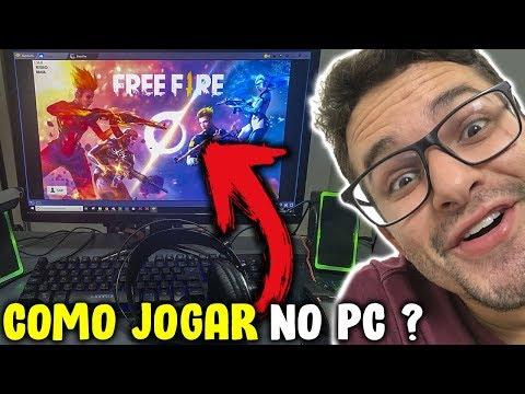 COMO JOGAR FREE FIRE NO COMPUTADOR MELHOR CONFIGURAÇÕES PRA JOGAR FREE FIRE NO PC
