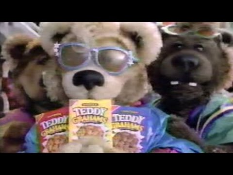 Teddy Grahams commercial (1989)