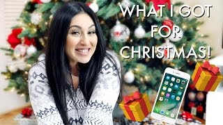 WHAT I GOT FOR CHRISTMAS 2016 + GIVEAWAY! | BEAUTYYBIRD