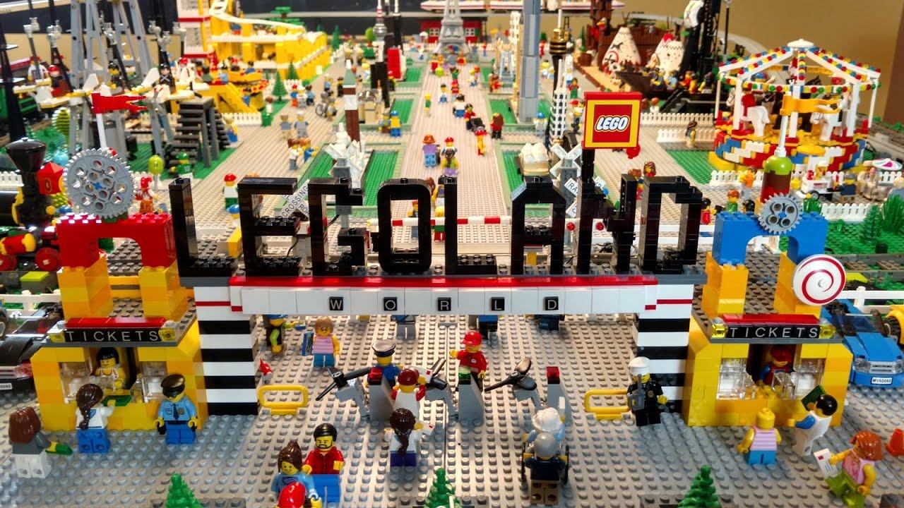 Custom Legoland LEGO Theme Park