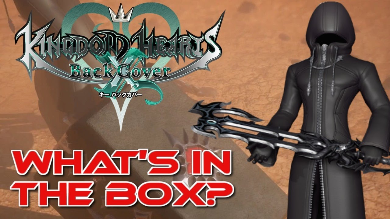 What's in the Box? - Kingdom Hearts X Back Cover - YouTube