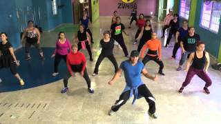 COREOGRAFIA ZUMBA®FITNESS DE ZIN IVAN BRAVO CON ALUMNOS SSF.