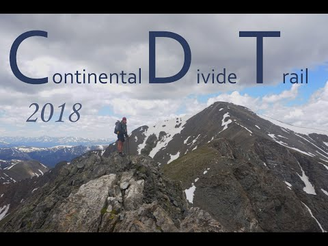 Continental Divide Trail(CDT) - 2018 - thru-hike