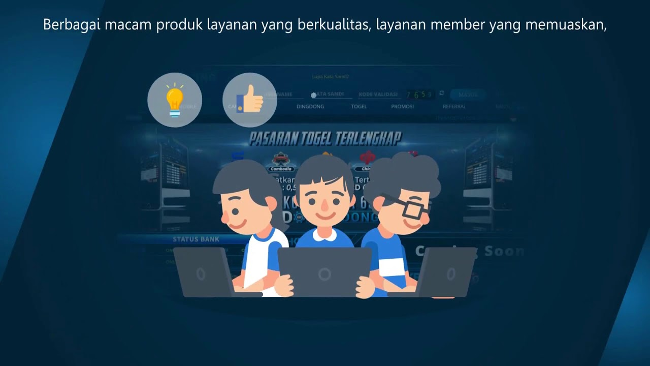 Indodingdong Agen Judi Togel Online Terpercaya - YouTube