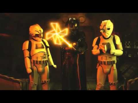 Star Wars 7 Kaputtes Laserschwert - Troopers: Laser Sword (German/Deutsch)