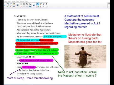 Macbeth Act 3 scene 3 and scene 4 analysis and revision