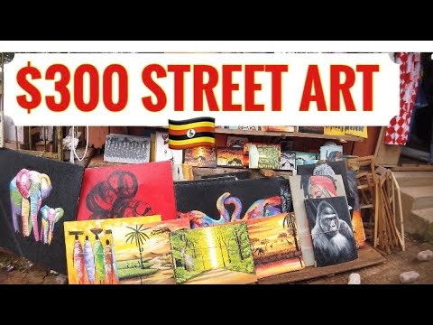 $300 Kampala Street Art Pieces 🇺🇬