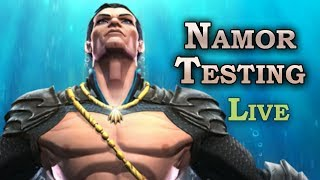 Namor Testing + Rifts | Marvel Contest of Champions Live Stream