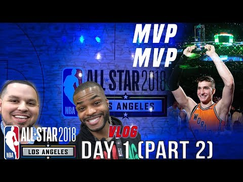 NBA All-Star 2018: Bogdan Bogdanovic wins MVP, King Bach and Crazy Activities in Los Angeles 👀 😂