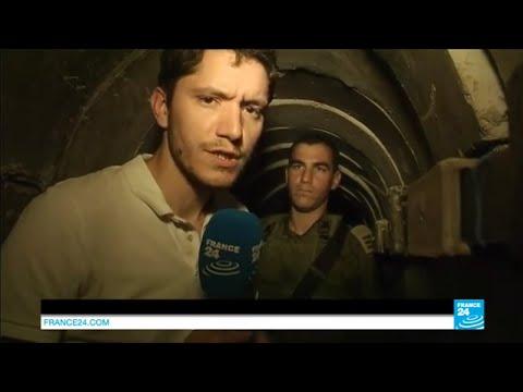 Israël : reportage dans un tunnel reliant Gaza à l'État hébreu