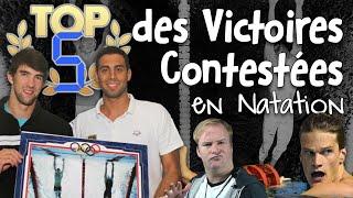 TOP 5 des Victoires Contestées en Natation - Salut les Baigneurs #62