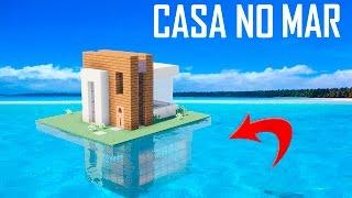 Minecraft Tutorial : CASA DE PRAIA DEBAIXO D'ÁGUA