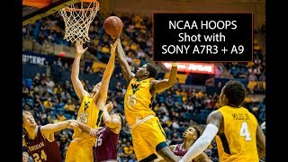Sony A7R III and Sony A9 - Photographing NCAA D1 Basketball (A7R3, A9)