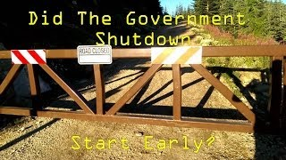 Did The US Federal Government Shutdown Start Early?  With Drones! National Forest Shutdown
