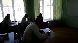 Київецький НВК. Радіодиктант