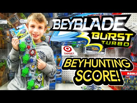 THEY HAVE ARRIVED! Beyblade Burst Toy Hunting Every Day At Target For Turbo / Giveaway? / BEYHUNTING