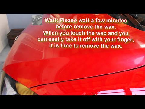 How to use carnauba wax