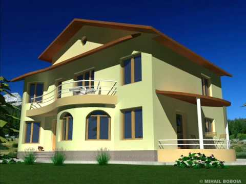 Casa ic 14 bucuresti proiecte case cu etaj youtube for Case cu etaj