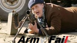 Crazy Soldier military funny Army Fail Compilation