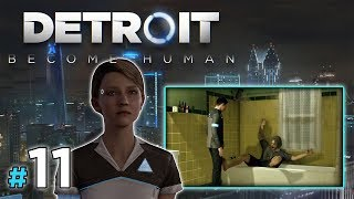 "DETROIT: Become Human [PS4] #11 - ""Zimny prysznic"""