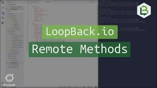 LoopBack.io Remote Methods on Models