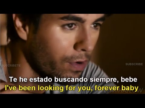 Enrique Iglesias - Finally Found You [Lyrics English - Subtitulada en Español]