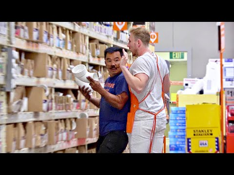 Rude Home Depot Employee Prank!