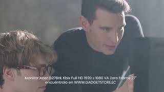 "Monitor Acer G276HL Kbix Full HD 1920 x 1080 VA Zero Frame 27"""