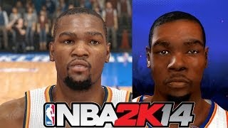 PS4 vs Xbox 360 and  PS3 NBA 2K14 Graphics Comparison Part 2 - Playstation 4 Footage